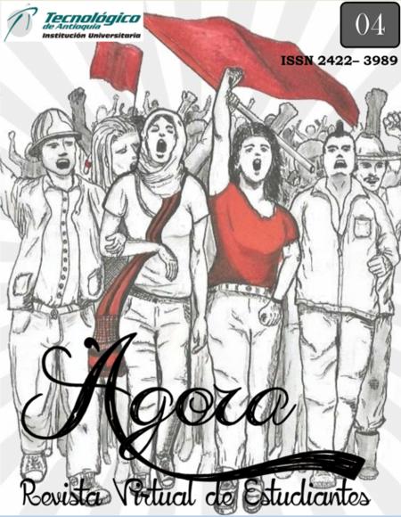 La imagen de la portada fue diseñada por un estudiante de la Universidad de Antioquia.